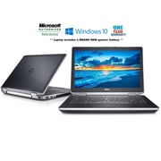 Dell Refurbished E6420 14-inch Notebook, 2.4 GHz Intel Core i7-2760QM, 128 GB SSD, 8 GB DDR3, Windows 10 Professional