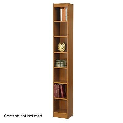 Safco® Veneer Bookcases, 7-Shelf, 12