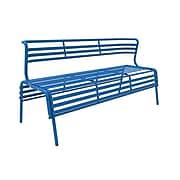 Safco CoGo Steel Outdoor/Indoor Bench, Blue (4368BU)