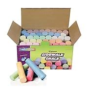 """Chenille Craft® 4"""" Sidewalk Chalk, Assorted, 37/Pack"""