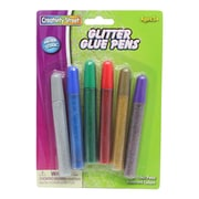Chenille Kraft Bright Hues Glitter Glue Pen 0.33 oz., 6/Pack