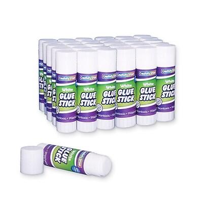 Chenille Kraft® 0.28 oz. Economy Glue Sticks; Clear, 30/Pack (CK-338330)