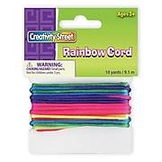 Chenille Kraft® Cords, Rainbow
