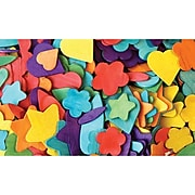 Creativity Street® Wood Party Craft Shapes, Assorted Colors, 200/Pack (CK-3604)