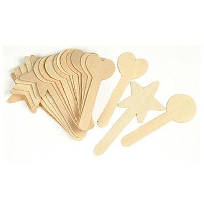 Chenille Kraft® Large Geometric Shapes Craft Sticks, 18/Pk