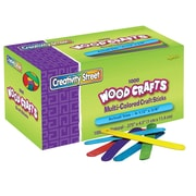 Chenille Kraft® Craft Sticks, Bright Hues, 1000/Pk