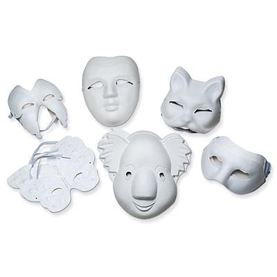 Chenille Kraft® Paperboard Mask Assortment Set