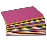 Chenille Kraft Company® WonderFoam® Solid Color Sheets, 40/Pack