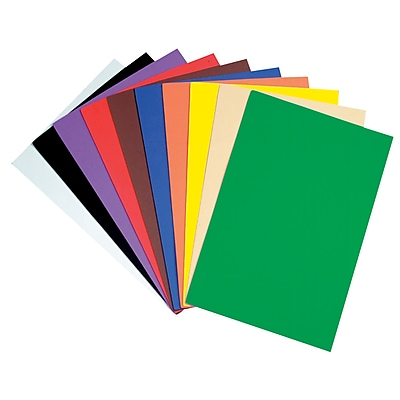 Chenille Craft® Large Sheets, Assorted, 10/PK, 2 PK/BD