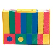 Chenille Kraft® WonderFoam® Blocks, Assorted, 40/Pack