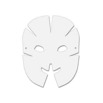Dimensional Paper Masks, Pack of 40