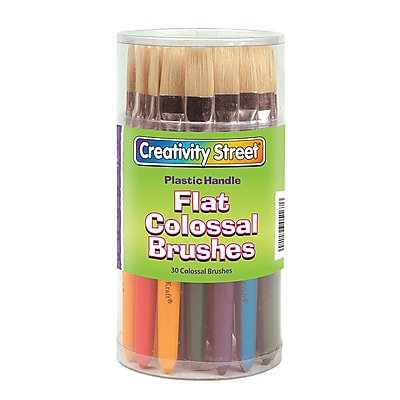 Chenille Kraft® Paint Brushes; Colossal Brushes, Flat