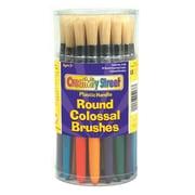 Chenille Kraft® Paint Brushes; Colossal Brushes, Round