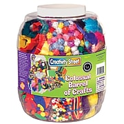 Creativity Street® Colossal Barrel of Crafts®, Assorted Colors, (CK-5602)
