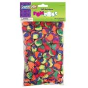 "Chenille Kraft Company® Pom-Poms, Rainbow, 1"", 6/Pack"