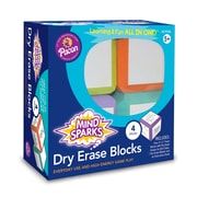 Pacon Mind Sparks Dry Erase Blocks, Theme/Subject: Learning, Skill Learning: Drawing, Writing, Letter, Word, Phrase, Number