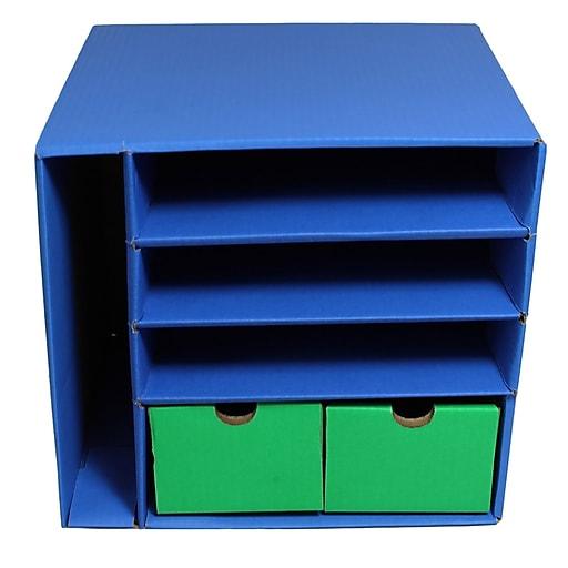 Pacon Corrugated Management Center Storage Unit