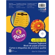 "Pacon, Premium Tagboard Gold, 8.5"" x 11"", Bundle of 5 Packs for a total of 250 Sheets (PAC1000030)"