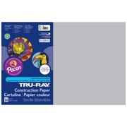 "Pacon Tru-Ray Construction Paper 18"" x 12"", Gray (PAC103059)"