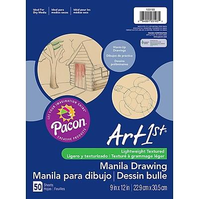 Art1st® Lightweight Drawing Paper, Manila 50 Sheets (PAC103193)