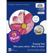"Pacon® Art Street® Translucent Tracing Paper Pad, 12"" x 9"""