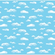 "Pacon Corobuff Paper Roll, 48"" x 12.5', Clouds (PAC12850)"