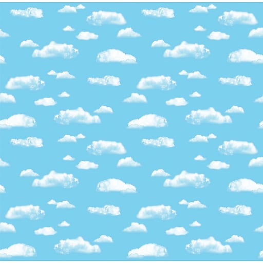 """Pacon Corobuff Paper Roll, 48"""" x 12.5', Clouds (PAC12850)"""