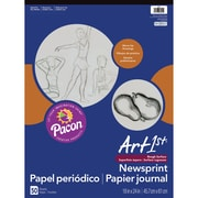 "Pacon® Art1st® White Newsprint Paper Pad, 24"" x 18"""