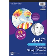 "Pacon® Art1st® White Drawing Paper Pad, 18"" x 12"""