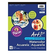 "Pacon® Art1st® White Watercolor Pad, 14"" x 11"""