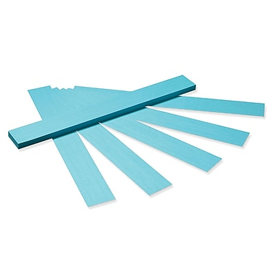 Pacon® Sentence Strips, Tagboard, Blue