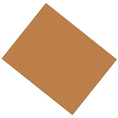 Pacon® Coated Poster Board, Brown, 22