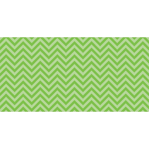 "Fadeless 48"" x 50' Lime Chevron, Design Roll (PAC55815)"