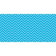 "Fadeless 48"" x 50' Aqua Chevron, Design Roll, (PAC55825)"