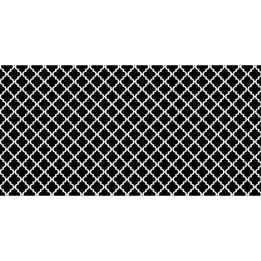 "Pacon Fadeless Designs Bulletin Board Paper, Classic Moroccan Black, 48"" X 50 Ft."