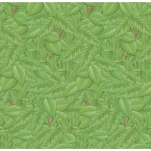 "Pacon Fadeless Bulletin Board Art Paper Roll, 48"" x 50', Tropical Foliage (PAC56255)"