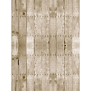 """Pacon Fadeless Bulletin Board Art Paper Roll, 48"""" x 50', Weathered Wood (PAC56515)"""