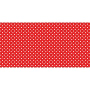 "Pacon Fadeless® Design Roll, 48"" x 50', Classic Dots, Red (PAC57405)"