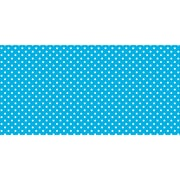 "Pacon Fadeless® Design Roll, 48"" x 50', Classic Dots, Aqua (PAC57425)"