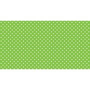"Pacon Fadeless® Design Roll, 48"" x 50', Classic Dots, Lime (PAC57435)"