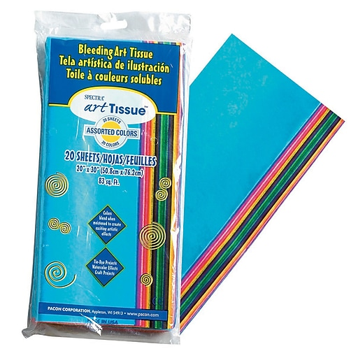 Spectra® Deluxe Bleeding Art Tissue™