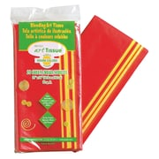 """Pacon® Spectra® 30"""" x 20"""" Deluxe Bleeding Art Tissue Paper, Assorted Warm Colors"""