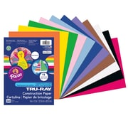 "Pacon® Tru-Ray® Sulphite Construction Paper, 9"" x 12"", Assorted Colors, 240 Sheets (PAC6586)"