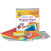 "Pacon® 9 3/4"" x 9 3/4"" Origami Craft Paper, Assorted Size"
