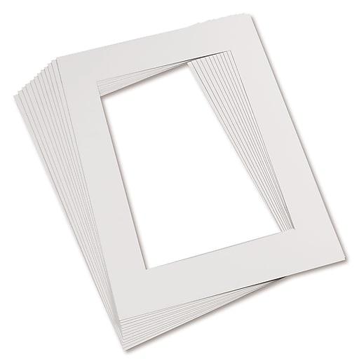 Pacon® Pre-Cut Mat Frame, White | Staples
