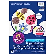 """Pacon® Finger Paint Paper, 11"""" x 16"""", 50/PK, 6 PK/BD"""