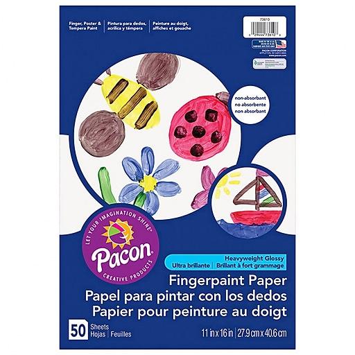 Pacon® Finger Paint Paper, 11