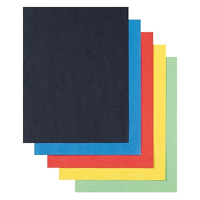 Pack of 50 Pacon Super Value Poster Board White 22 x 28 Inches
