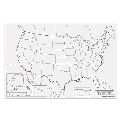 Pacon® Corporation® Learning Walls® US Map (PAC78760)