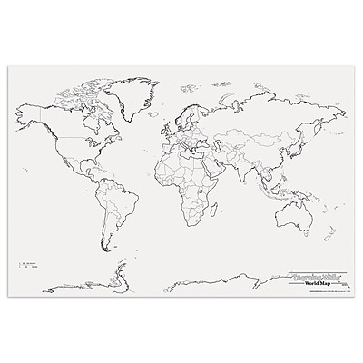 Pacon® Corporation® Learning Walls® World Map (PAC78770)